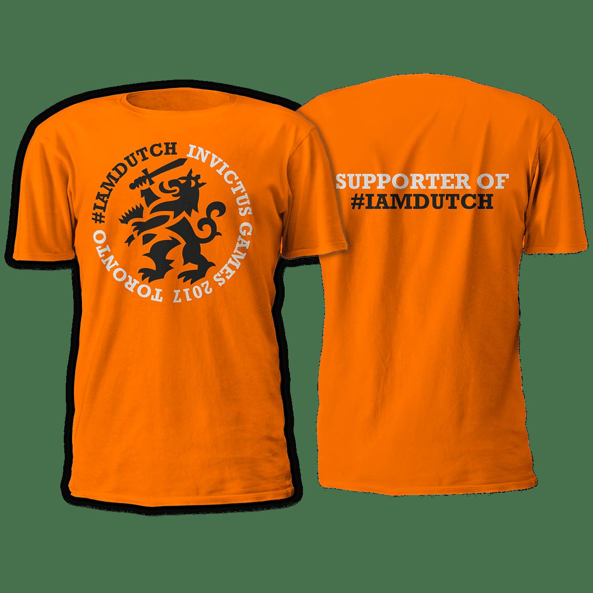 T-shirt #IAMDUTCH